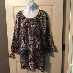 Cato Tunic Top Sz XL NWOT